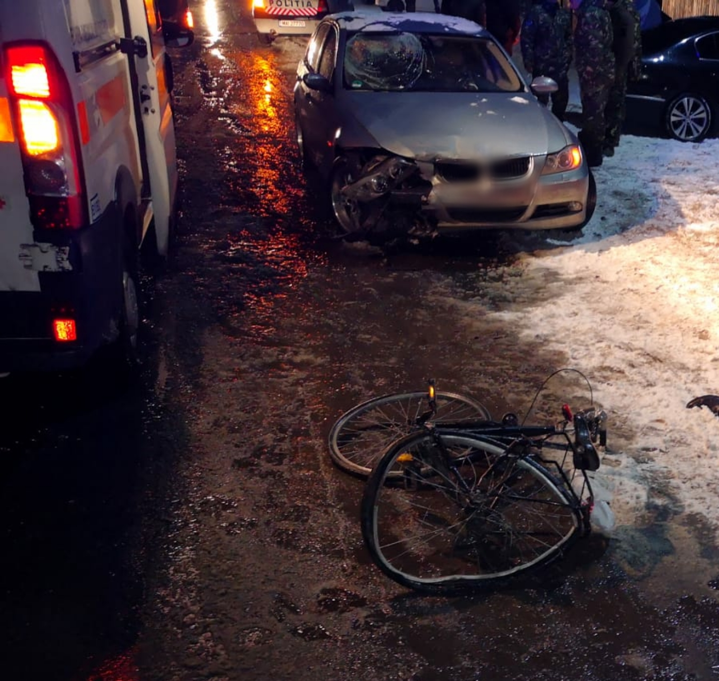 Biciclist accidentat mortal la Titu